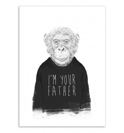 Art-Poster - I'm your father - Balazs Solti