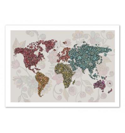 Art-Poster - Paisley World - Valentina Harper