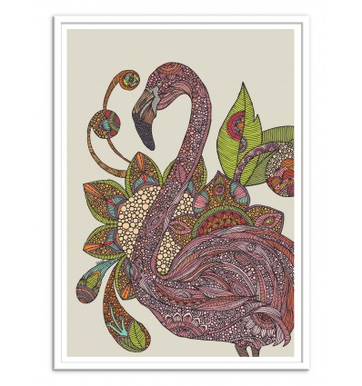 Art-Poster - Royal Flamingo - Valentina Harper