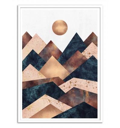 Art-Poster - Autumn Peaks - Elisabeth Fredriksson