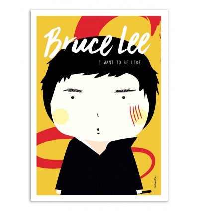 Art-Poster - Bruce Lee - Ninasilla