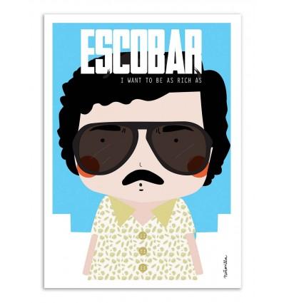 Art-Poster - Escobar - Ninasilla