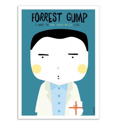 Art-Poster - Forrest Gump - Ninasilla