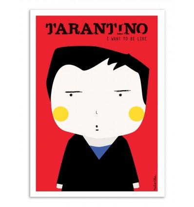 Art-Poster - Tarantino - Ninasilla