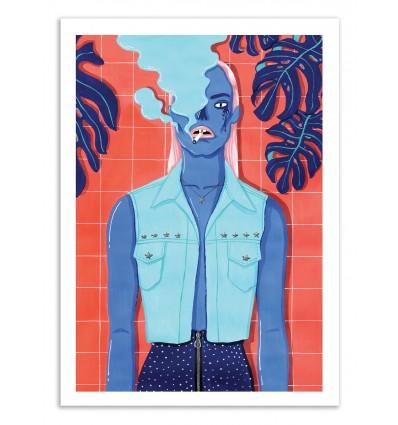 Art-Poster - Meet at the pool 2 - Sarah Matuszewski