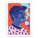 Art-Poster - Meet at the pool 3 - Sarah Matuszewski