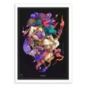 Art-Poster - Taurus Zodiac Sign - MUTE