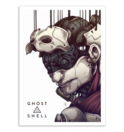 Art-Poster - Ghost in the shell - MUTE