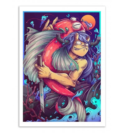 Art-Poster - Giant carp - MUTE