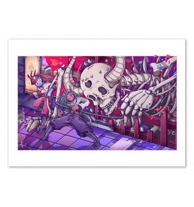 Art-Poster - Skeleton Spectre - MUTE