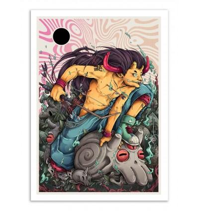 Art-Poster - Cranium warrior - MUTE