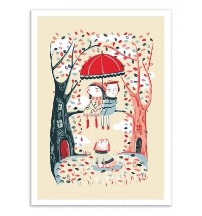Art-Poster - Rain - Anickanita