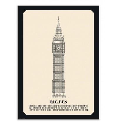 Art-Poster - Big Ben - Lionel Darian