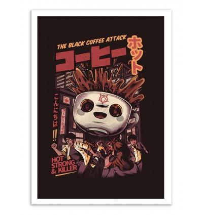Art-Poster - Black coffee - Ilustrata