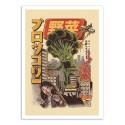 Art-Poster - Broccozilla - Ilustrata