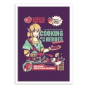 Art-Poster - Cooking like a chief - Ilustrata