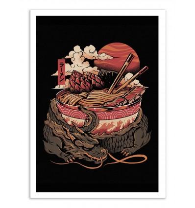 Art-Poster - Dragon's ramen - Ilustrata