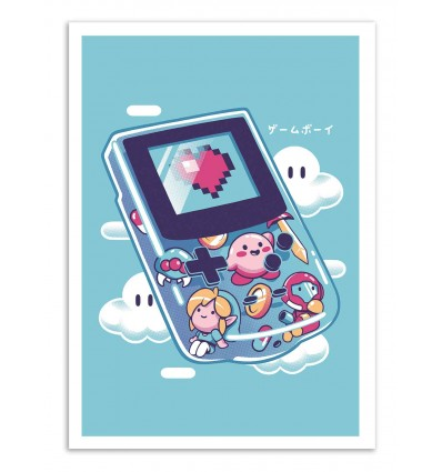 Art-Poster - Gameboy - Ilustrata