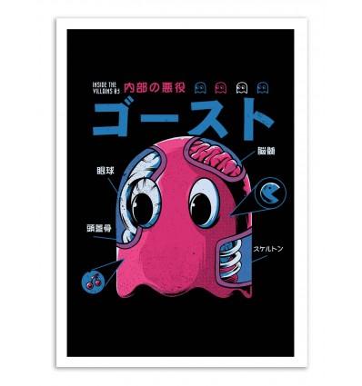 Art-Poster - Ghostzilla - Ilustrata