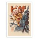 Art-Poster - Pizza Kong - Ilustrata
