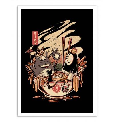 Art-Poster - Ramen Pool Party - Ilustrata