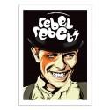 Art-Poster 50 x 70 cm - Rebel Rebel - Butcher Billy