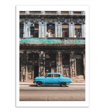 Art-Poster - Cuba Blue - Luke Gram