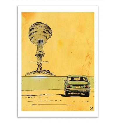 Art-Poster - Bomb romance - Giuseppe Cristiano