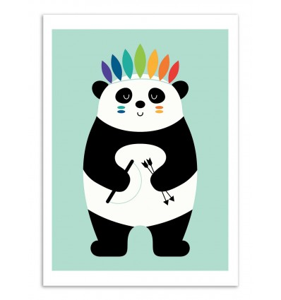 Art-Poster - Indian Panda  - Andy Westface