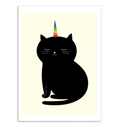 Art-Poster - Caticorn  - Andy Westface