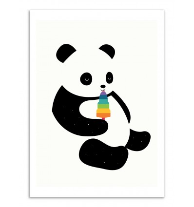 Art-Poster - Panda dream - Andy Westface