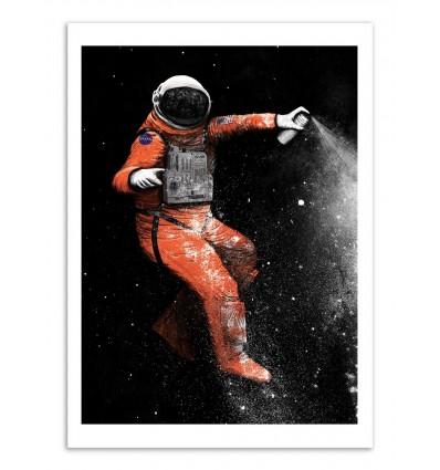 Art-Poster - Street Astronaut - Florent Bodart
