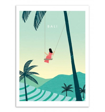 Art-Poster - Bali - Katinka Reinke
