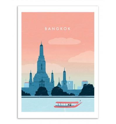 Art-Poster - Bangkok - Katinka Reinke