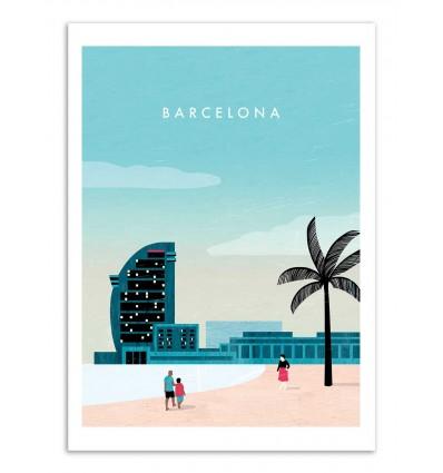Art-Poster - Barcelona - Katinka Reinke