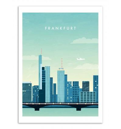 Art-Poster - Frankfurt - Katinka Reinke