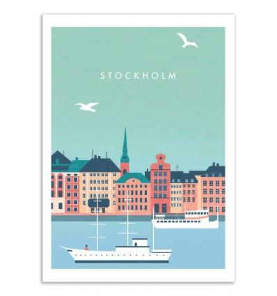 Art-Poster - Stockholm - Katinka Reinke