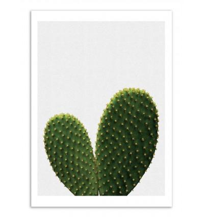 Art-Poster - Heart Cactus - Orara Studio