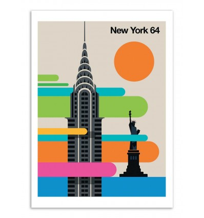 Art-Poster - New-York 64 - Bo Lundberg