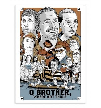 Art-Poster - O'Brother -  Joshua Budich
