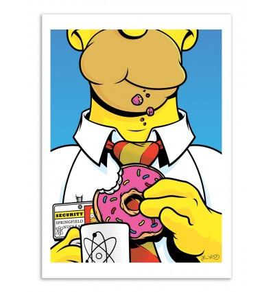 Art-Poster - Homer -  Joshua Budich