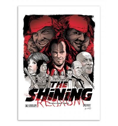 Art-Poster - The Shining -  Joshua Budich