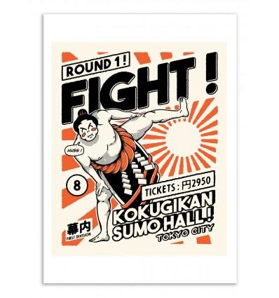 Art-Poster - Fight ! - Paiheme studio