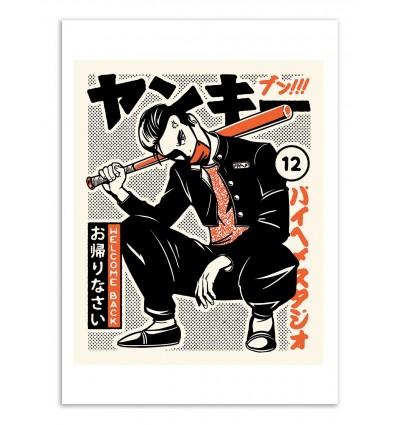 Art-Poster - Welcome Back - Paiheme studio