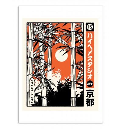 Art-Poster -Arashiyama - Paiheme studio