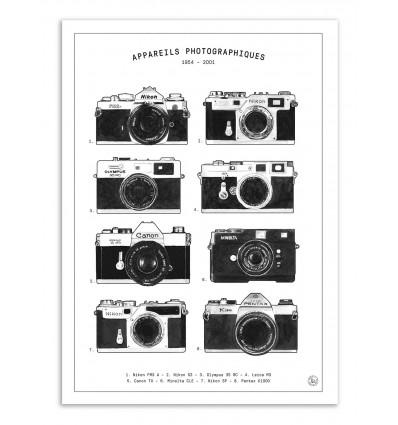 Art-Poster - Appareils photographiques - Florent Bodart