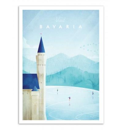 Art-Poster - Visit Bavaria - Henry Rivers