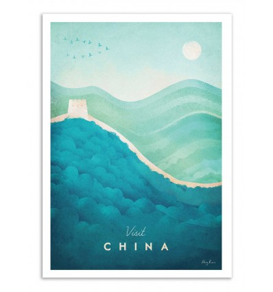 Art-Poster - Visit China - Henry Rivers