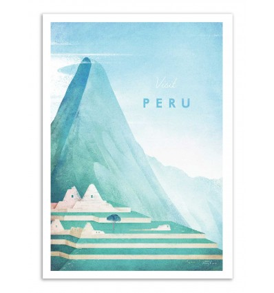 Art-Poster - Visit Peru - Henry Rivers