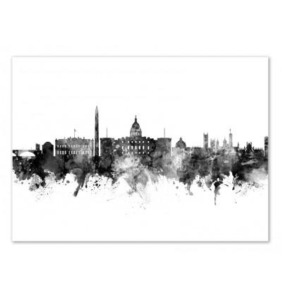 Art-Poster - Washington DC Skyline - Michael Tompsett